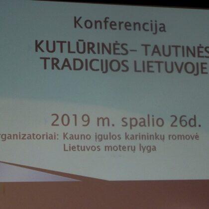 """Knferencija """"Tautinės kultūrinės tradicijos Lietuvoje"""""""